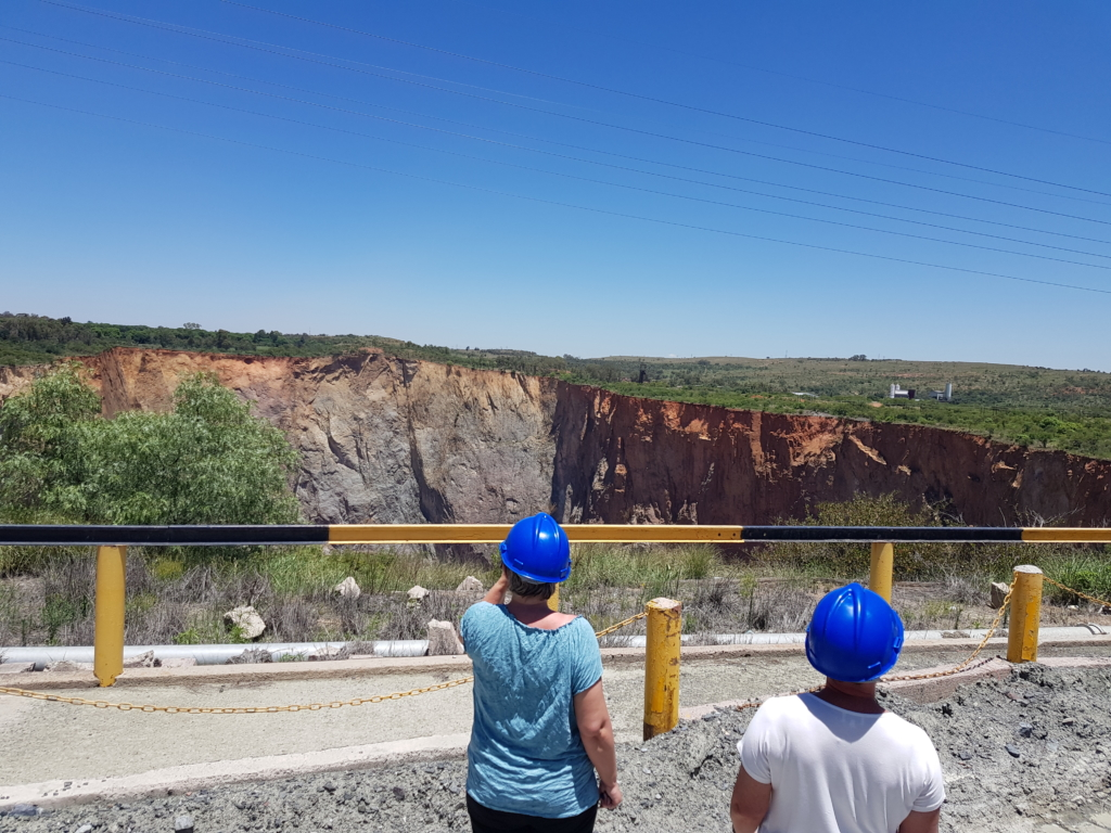 Cullinan mines above ground tour